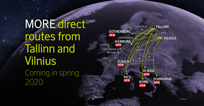 airBaltic unveils host of new destinations for summer 2020 | News